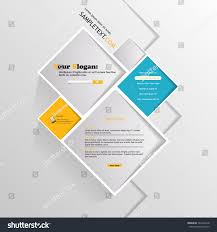 abstract minimalistic website square design illustration stock
