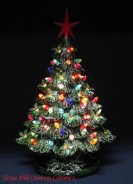 vintage ceramic christmas tree home ceramic christmas tree with lighjts christmas ideas