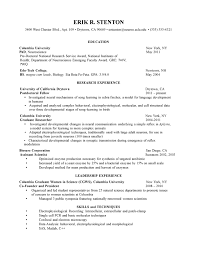 best layout for resume cover letter research resume template clinical research resume cover letter best academic resume format best templates sample cv phd neuroscience biology presearch resume template