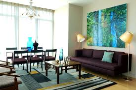 furniture entrancing living room brown sofa blue and walls laura