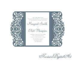 5x7 u0027 u0027 gate fold wedding invitation card template analese q