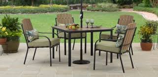 Better Homes And Gardens Azalea Ridge 4 Piece Patio 5 Piece Patio Dining Set Outdoor Room Ideas