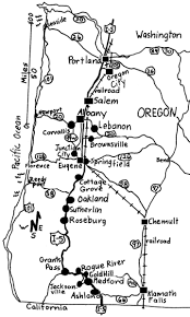 map of oregon i 5 oregon walks map oregon mappery
