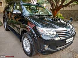 review 2011 toyota fortuner 4x2 mt u0026 at page 45 team bhp