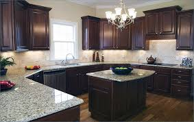 what color countertops with brown cabinets venetian with cabinets brown kitchen cabinets