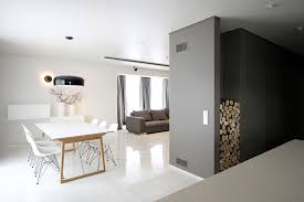 minimal style and white colour theme of house 02 by ramunas