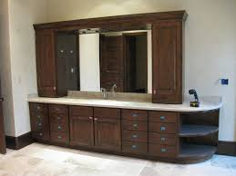 Bathroom Cabinets Painting Ideas Dark Wood Bathroom Storage Furniture Dark Brown Color Ideas