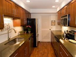 rectangular kitchen ideas contemporary galley kitchen designs i like the cabinet the
