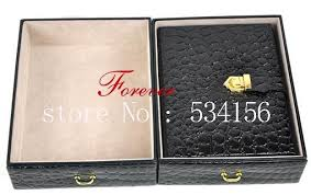 leather necklace gift box images Watch box earrings necklace pendant jewelry organizer jewelry jpg