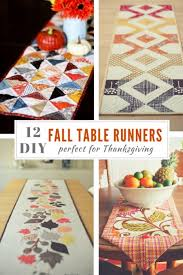 12 table runner tutorials