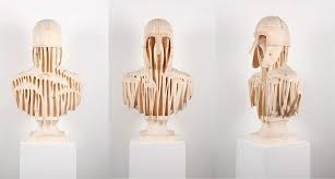 contemporary wooden sculptures by herrin