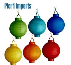 battery operated paper lantern lights battery operated paper lanterns from pier one toot sweet 4 two