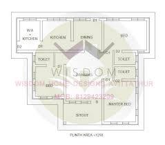 Kerala Home Design 900 Sq Feet Beautiful Single Floor Home Design 1200 Sq Ft