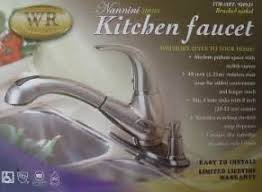 water ridge kitchen faucets review costco wr water ridge pull out faucet brushed nickel