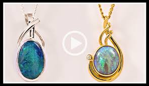 opal necklace setting images Fremantle opals png