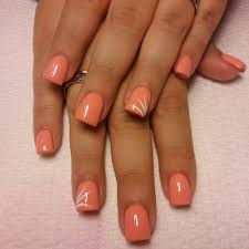 nail art peach beautiful nail art nail polish awesome peach nail