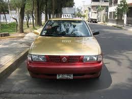 nissan tsuru taxi en el df taxis preferentes periódico nmx