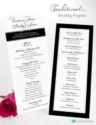 Example Of Wedding Program Wedding Programs Wording Examples Finding Wedding Ideas