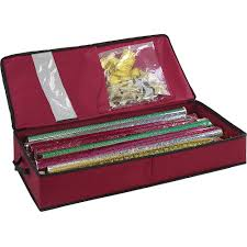 christmas wrapping paper holder gift wrap storage and organization organize it