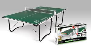 collapsible table tennis table folding ping pong table new eastpoint sports fold n store 15mm table