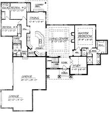 house open floor plans open concept ranch simple open floor plans
