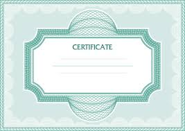 vector certificate template design art free vector in encapsulated