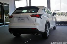 lexus nx new model 2015 lexus nx officially launched priced from rm299 873 lowyat net cars