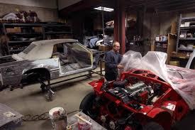 corvette restoration shops netcong auto restorations llc complete car restoration