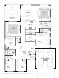 Impressive 4 Bedroom House Plans House Plan Lovely Plan For 4 Bedroom House In Kerala Plan For 4