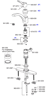 how to remove a moen kitchen faucet moen single lever kitchen faucet repair parts kitchen design ideas