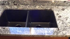 custom made in maine blue arraras granite countertop installed w granite composite undermount sink you