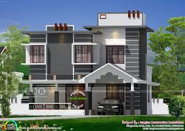 1590 sq ft ultra modern villa plan kerala home design and floor