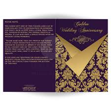 Size Invitation Card Any Anniversary Invitation Card Optional Photos Purple And