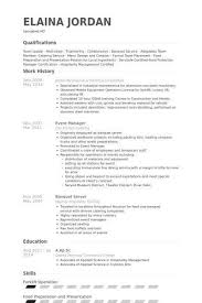 banquet captain resume sample banquet manager resume resume
