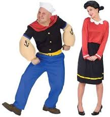 olive oyl costume couples popeye and olive oyl costume pair duo theme