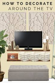best 25 decorate around tv ideas on pinterest decorating around