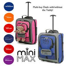 light travel bags luggage minimax childrens kids cabin luggage small light travel bag childs
