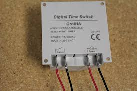 digital timer control of a linear actuator actuator zone