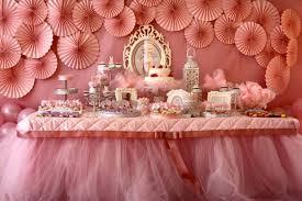 ballerina baby shower decorations baby shower table decorations with tulle ballerina 1 baby shower diy