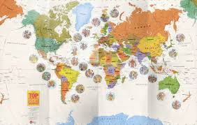 Show Me A Picture Of The World Map by World Geography Book For Kids Top Secret Adventures Club