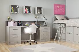 bureau d ado bureau blanc ado bureau modulable 140 cm avec caisson bureau ado