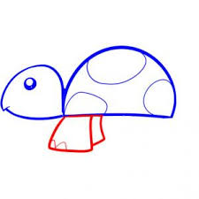 how to draw how to draw a turtle for kids hellokids com