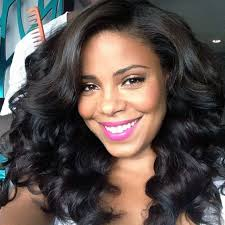 black hair swoop bang chic and versatile sew in styles you should definitely try part 20