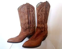 womens cowboy boots canada vintage cowboy boots etsy