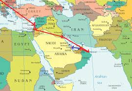 doha qatar map doha qatar map middle east