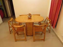 Folding Dining Room Chair Folding Dining Room Table For Saving Space Boundless Table Ideas