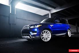 range rover rims 2017 2014 range rover sport gets 22 inch vossen cvt wheels video