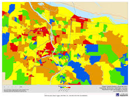 Portland Zip Code Map by Lindholm Company Blog 2010 October