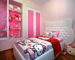 simple hello kity girls bedroom designs for small rooms luxury