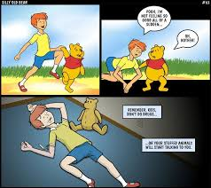 winnie pooh characters horribly wrong